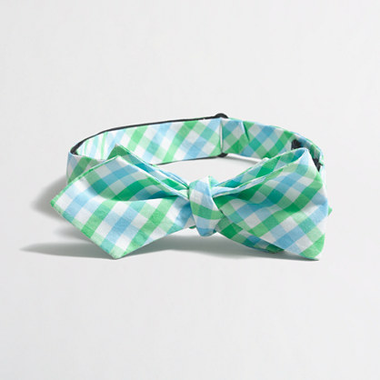 Washed bow tie