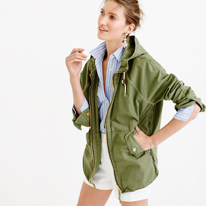 Convertible zip anorak jacket