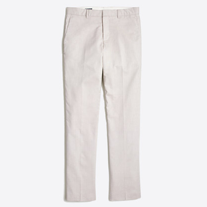 Slim Thompson suit pant in flex cotton