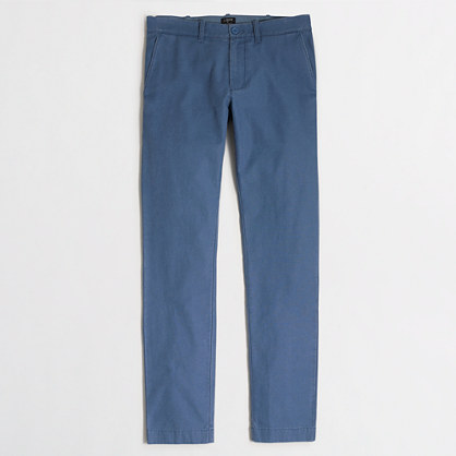 Factory Driggs textured cotton pant