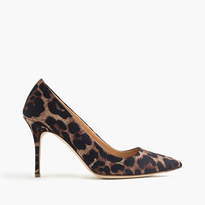 Elsie leopard pumps