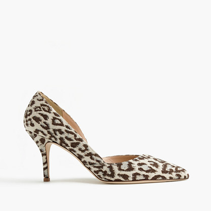 Colette d'Orsay pumps in safari print