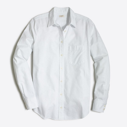 Factory oxford shirt in perfect fit