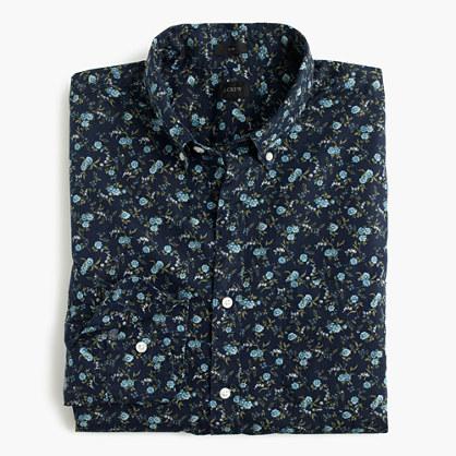 Slim Secret Wash shirt in floral