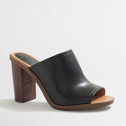 Factory Margo leather mules