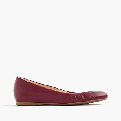 Cece Italian-made ballet flats in leather