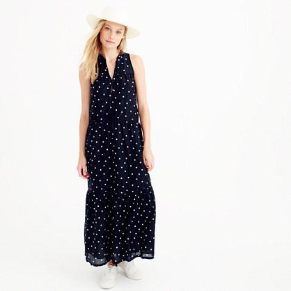 Resort dress in dot