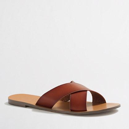 Factory seaside sandals