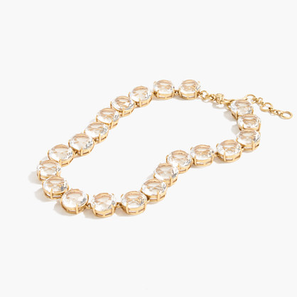 Classic crystal necklace