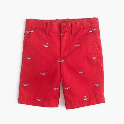 Boys' critter Stanton short in whales