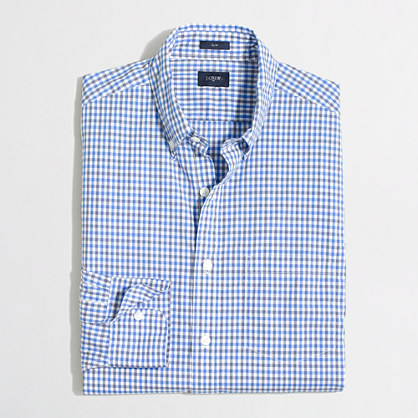 Factory lightweight washed shirt