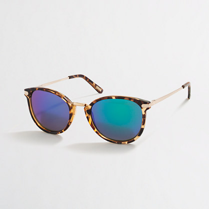 Factory mixed-media sunglasses
