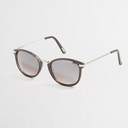 Mixed-media sunglasses
