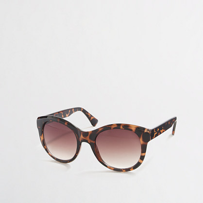 Factory classic oversized sunglasses