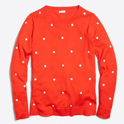 Polka-dot Teddie sweater