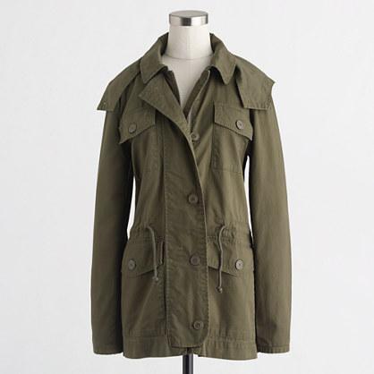 Factory boyfriend fatigue jacket