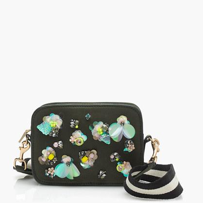 Embellished camera bag