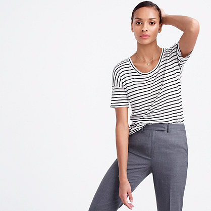 10 percent T-shirt in stripe