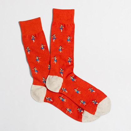 Factory hula girl socks