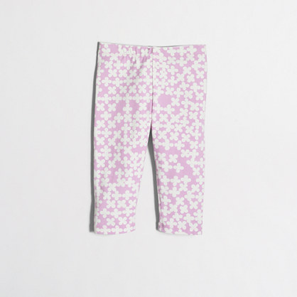 Factory girls' clover capri leggings