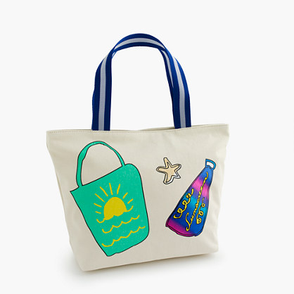 Wovenplay® for crewcuts beach bag
