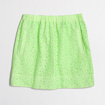 Factory lace skirt