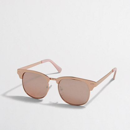 Factory girls' rose gold sunglasses