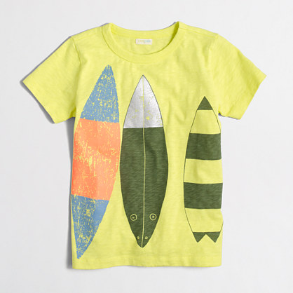 Factory boys' surfboards storybook T-shirt