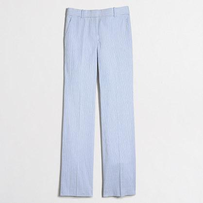 Seersucker trouser