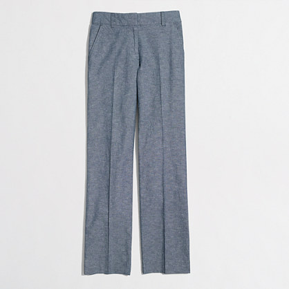 Factory chambray trouser