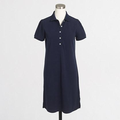 Factory polo shirtdress