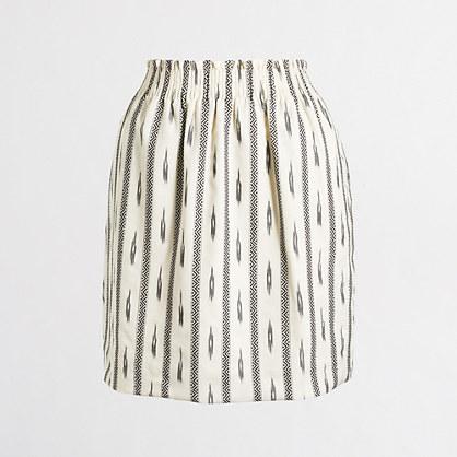 Factory ikat sidewalk skirt