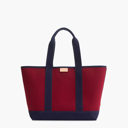 Surfside canvas tote bag