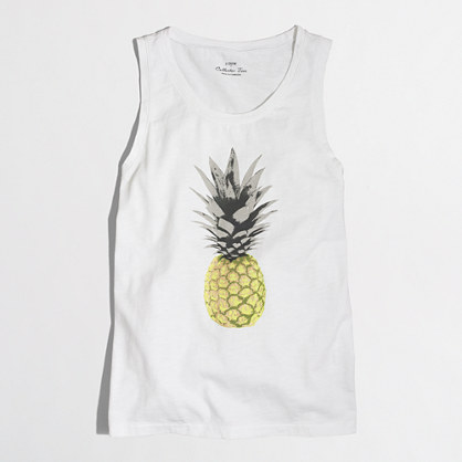 Factory pineapple collector tank top