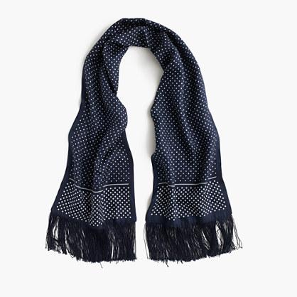 Silk scarf in dot