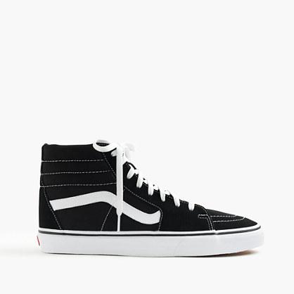 Vans® Sk8-Hi sneakers in black