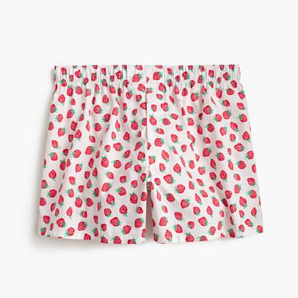Strawberry print boxers