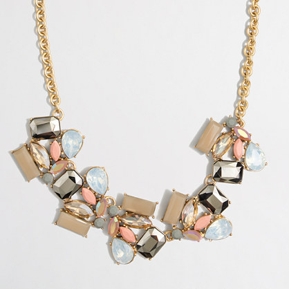 Factory Deco stone necklace