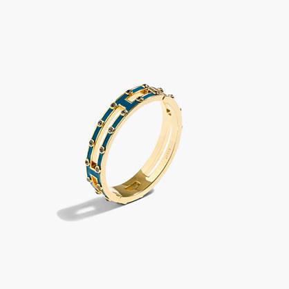 Double-row hinge bracelet