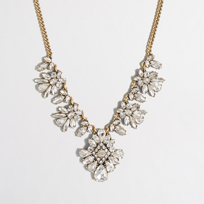 Factory ornate crystal necklace