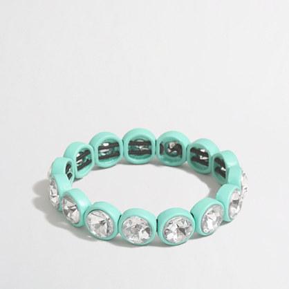 Factory crystal bubble bracelet