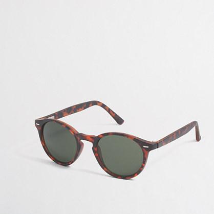 Factory round sunglasses
