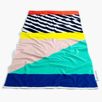 "Kids' Sunnylifeâ""¢ multistripe beach towel"