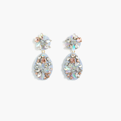 Chambray crystal earrings