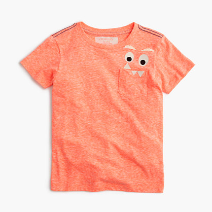 Boys' glow-in-the-dark Max the Monster T-shirt in the softest jersey
