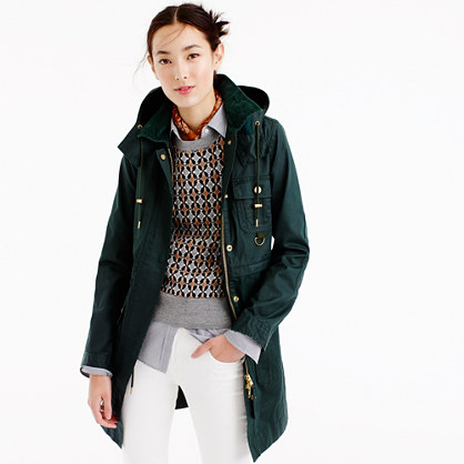 Long downtown field jacket