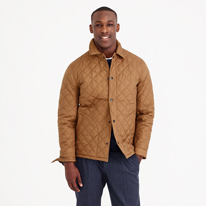 Quilted Primaloft® coach's jacket