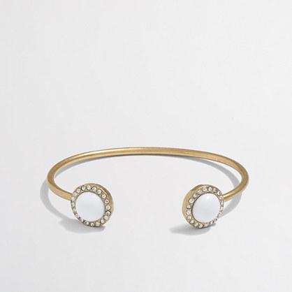 Factory gemstone cuff bracelet