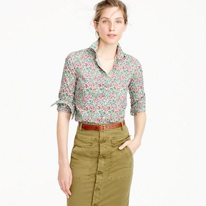Perfect shirt in Liberty Art Fabrics Isborella print