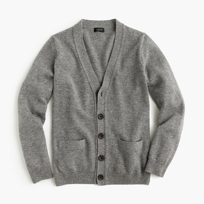 Kids' cashmere cardigan sweater